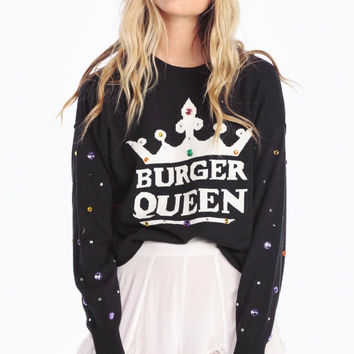 Burger Queen Celeste Sweater