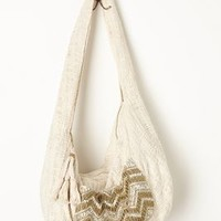 Day-Tripping Shoulder Bag by Anthropologie Ivory One Size Bags