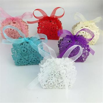 Favors Decor Butterfly Candy Gift Boxes Party Candy Box