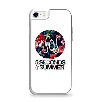 5 Second of Summer Floral iPhone 6 | iPhone 6S Case