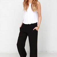 Lucca Couture Out and About Black Pants