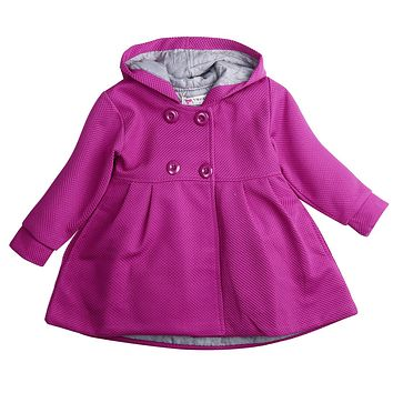 Winter Toddler Double-breasted Dress Coat