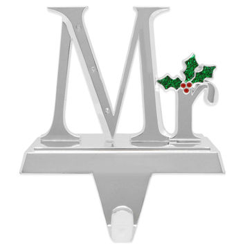 Harvey Lewis™ Mr. Stocking Hanger Made with Crystals from Swarovski®