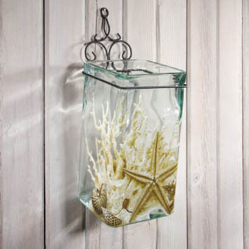 UNDER THE SEA WALL VASE CANDLE HOLDER