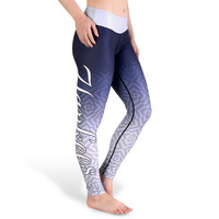 New York Yankees Gradient Print Leggings