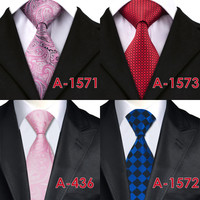 2017 Fashion Mens Ties Neckties 8.5cm Classic Paisley Ties for Men Formal Wear Business Wedding Suit