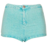 MOTO Turquoise Acid Hotpants - New In This Week  - New In