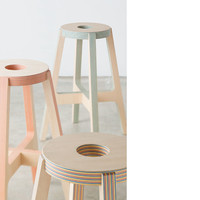 Paper-Wood STOOL | DRILL DESIGN