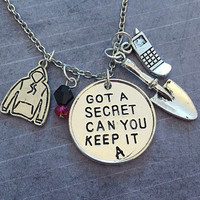 Got A Secret Can You Keep It Deluxe Necklace - Pretty Little Liars Jewelry - PLL Jewelry - Fandom Jewelry