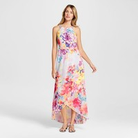 Women's Floral Printed Maxi Dress - Spenser Jeremy