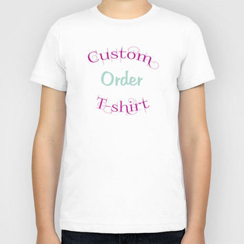 KIDS Custom Graphic Print Tee T-Shirt Shirt T-Shirt Tee Monogram Girls Boys Fashion Special Unique Must Have Great Gift Idea Personalized