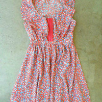 Ruffled Bluebell Dress [3025] - $34.00 : Vintage Inspired Clothing & Affordable Fall Frocks, deloom   Modern. Vintage. Crafted.