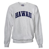 Blue Classic Hawaii Sweatshirt on CafePress.com