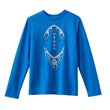 Tek Gear Textured Football Tee - Boys 8-20, Size: