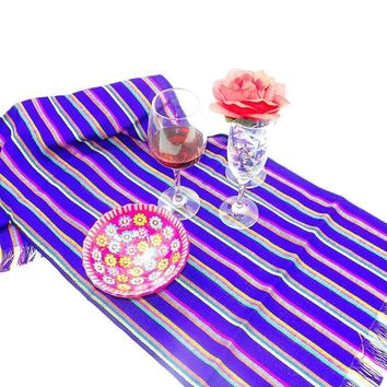 Mexican Table Runner, Mexican Table Decorations, Mexican Themed Wedding, Mexican Dinner Party Decorations, Aztec Fabric, Bohemian Chic.