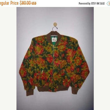 SALE Christmas Xmas Vintage HL Henry Luc Chapuis Neon Abstract Designer Hot Mama Coudroy Jackets Floral