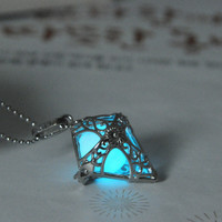 Jewelry Shiny New Arrival Gift Stylish Lightning Innovative Noctilucent 3-color Chain Necklace [8026324807]
