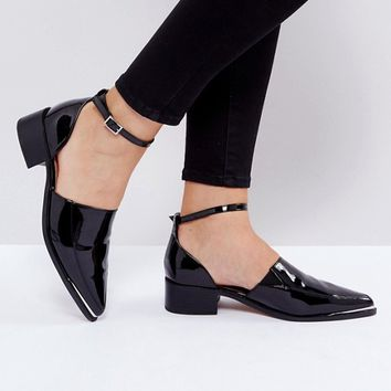 ASOS MAPLE Flat Shoes at asos.com