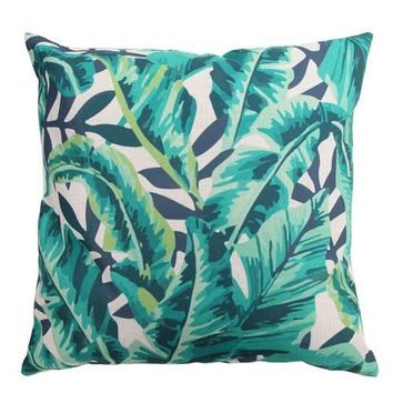 Jungle Tropics 18 x 18 Pillow Cover