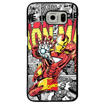 Iron Man TPU+PC Case For Samsung Galaxy S7 Edge