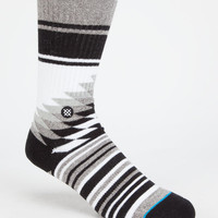 Stance Lariato Mens Athletic Crew Socks Gray One Size For Men 25863211501