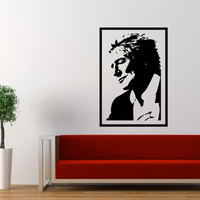 Rod Stewart Wall Decal Large 17 x 25 Inches