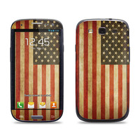 Samsung Galaxy S3 Phone Case Cover Decal - Old American Flag