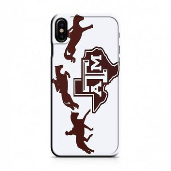 Texas A M (horse) iPhone X Case