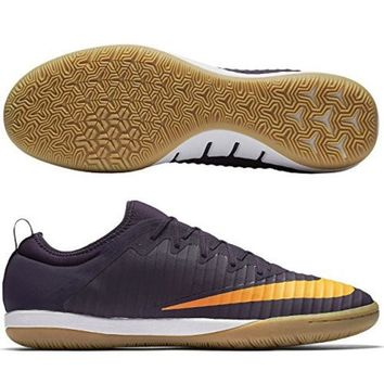 DCCK8BW Nike MERCURIALX FINALE II IC mens soccer-shoes 831974-589_11.5 - PURPLE DYNASTY/BRIGHT CITRUS