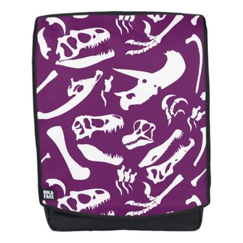 Dinosaur Bones (Purple) Backpack