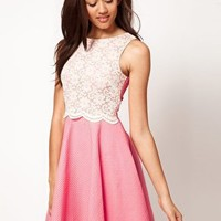 River Island Dolly Skater Dress at asos.com
