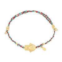 Hand Of Fatima Precious Threads Bracelet