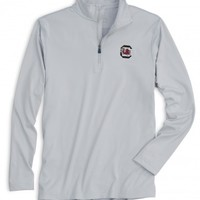 LIGHTWEIGHT GAMEDAY 1/4 ZIP PULLOVER - UNIVERSITY OF SOUTH CAROLINAStyle: 2358_USC05