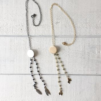 Catching Dreams Bolo Necklace