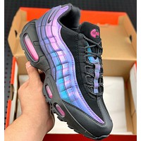 NIKE AIR MAX 95 Gradual Purple Steam Retro Running Shoes