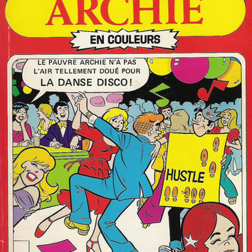1980 French Archies Comic Book Special Edition - L'album du Collectionneur - French Betty & Veronica French Comics Teenagers Teens