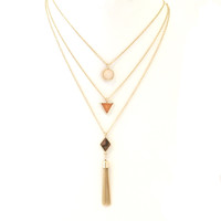 Hesperian Layered Necklace