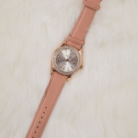 Dark Blush Watch