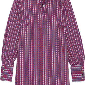 Caroline Constas - Boyfriend cotton-jacquard shirt dress