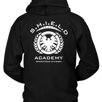 Marvel Shield Academy Operations Divisions Hoodie Two Sided