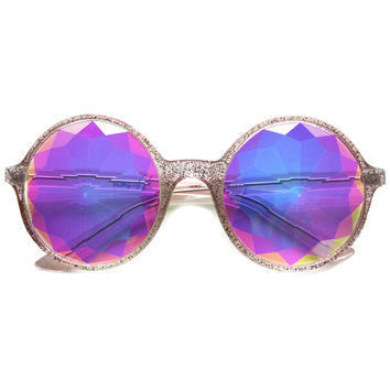 Valley City X zeroUV Crystal Kaleidoscope Sunglasses A538