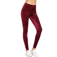 Women Mid Waist Elegant Fitness Leggings Exercise Leggings For Ladies