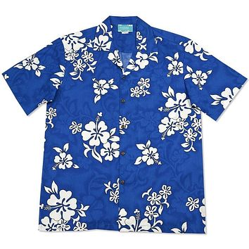 waves hawaiian cotton shirt