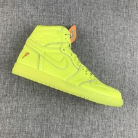 Best Deal Online Nike Air Jordan Retro 1 Gatorade Cyber Men Sneakers AJ5997-345