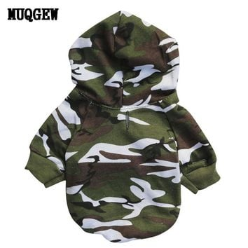 Dog Apparel- Camo Sweater