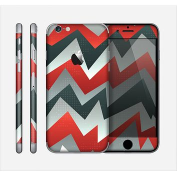 The Abstract ZigZag Pattern v4 Skin for the Apple iPhone 6