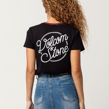 VOLCOM Tied To Me Womens Tee