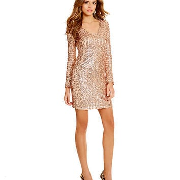 Gianni Bini Mercedes Sequin Dress | Dillards