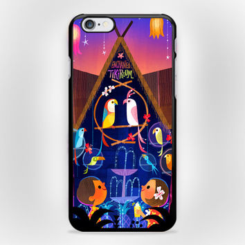 Tiki Room Vintage Disney iPhone 6 Case