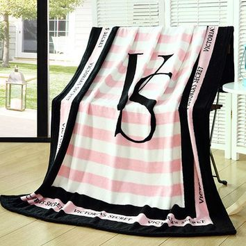 Victoria Secret Blanket Manta Fleece Blanket Throws